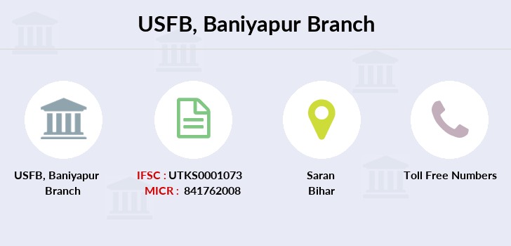 Utkarsh-small-finance-bank Baniyapur branch