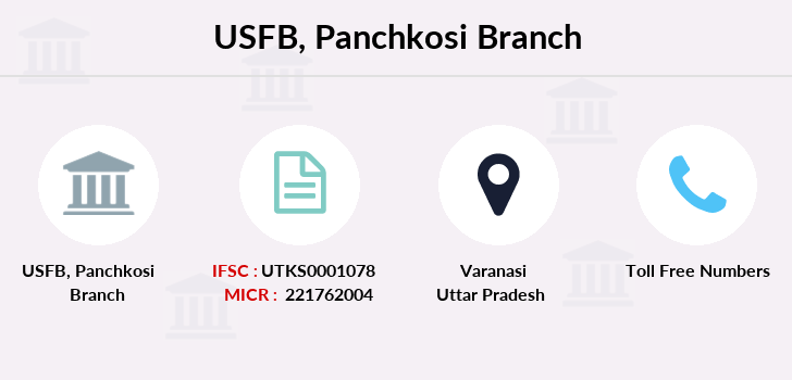 Utkarsh-small-finance-bank Panchkosi branch