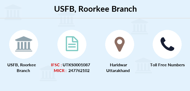 Utkarsh-small-finance-bank Roorkee branch