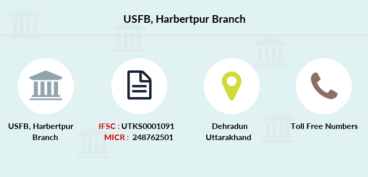Utkarsh-small-finance-bank Harbertpur branch