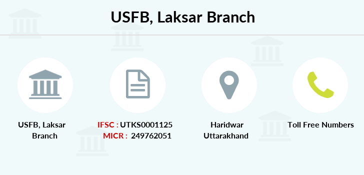 Utkarsh-small-finance-bank Laksar branch