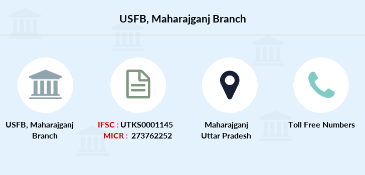 Utkarsh-small-finance-bank Maharajganj branch