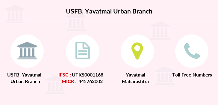 Utkarsh-small-finance-bank Yavatmal-urban branch