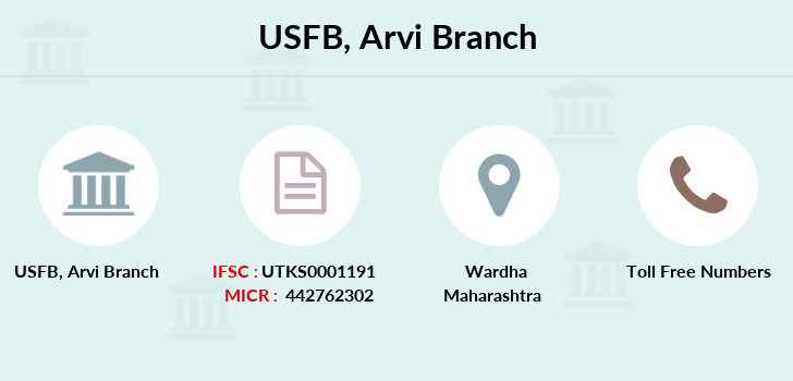 Utkarsh-small-finance-bank Arvi branch
