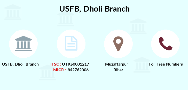 Utkarsh-small-finance-bank Dholi branch