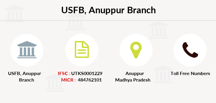Utkarsh-small-finance-bank Anuppur branch