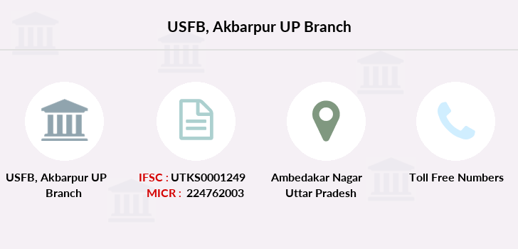 Utkarsh-small-finance-bank Akbarpur-up branch