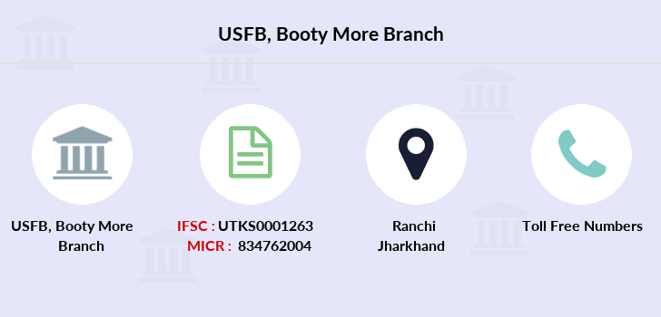 Utkarsh-small-finance-bank Booty-more branch