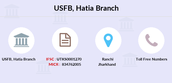 Utkarsh-small-finance-bank Hatia branch