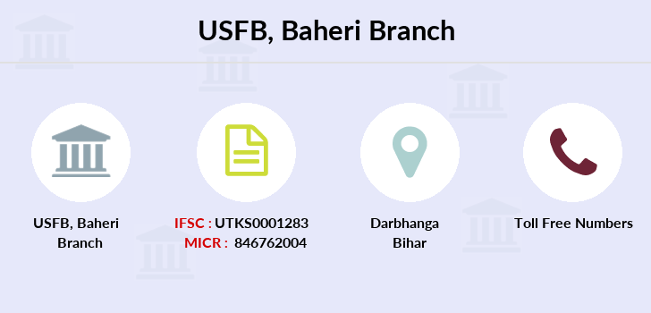 Utkarsh-small-finance-bank Baheri branch