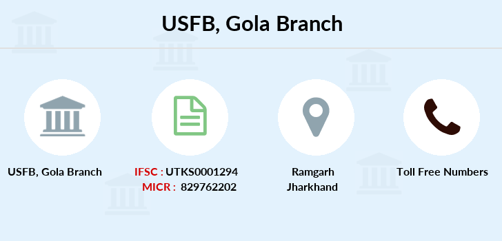 Utkarsh-small-finance-bank Gola branch