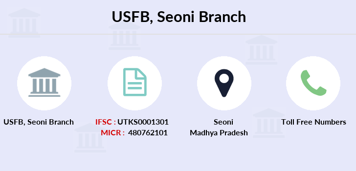 Utkarsh-small-finance-bank Seoni branch