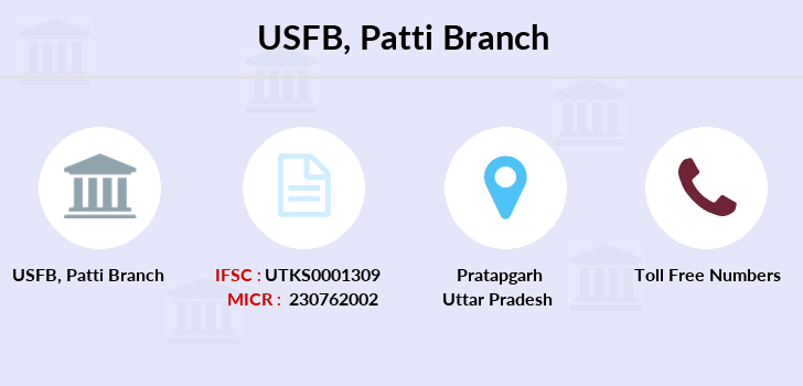 Utkarsh-small-finance-bank Patti branch