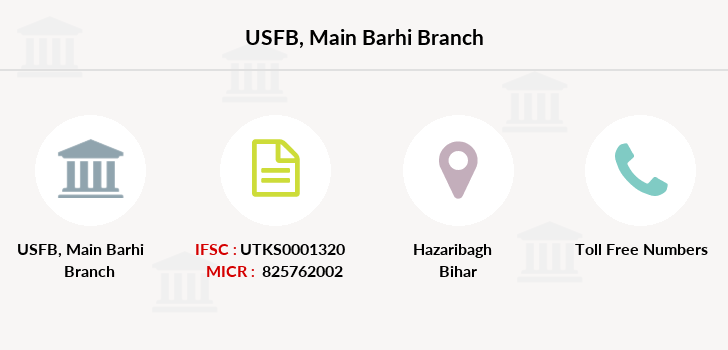 Utkarsh-small-finance-bank Main-barhi branch