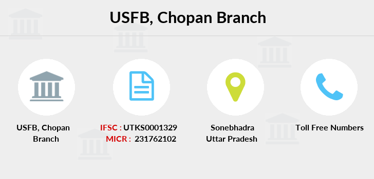 Utkarsh-small-finance-bank Chopan branch