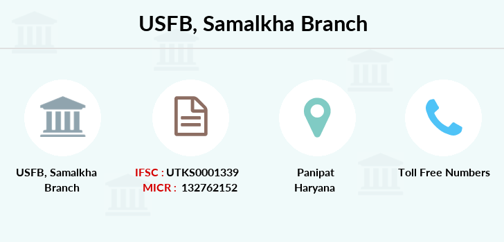 Utkarsh-small-finance-bank Samalkha branch