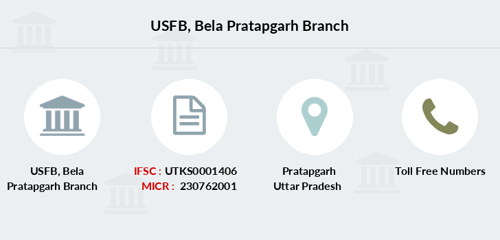 Utkarsh-small-finance-bank Bela-pratapgarh branch