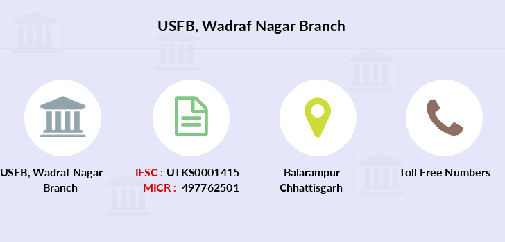 Utkarsh-small-finance-bank Wadraf-nagar branch