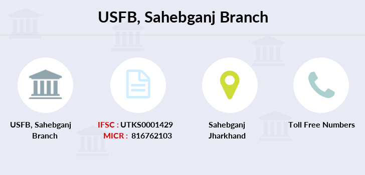 Utkarsh-small-finance-bank Sahebganj branch