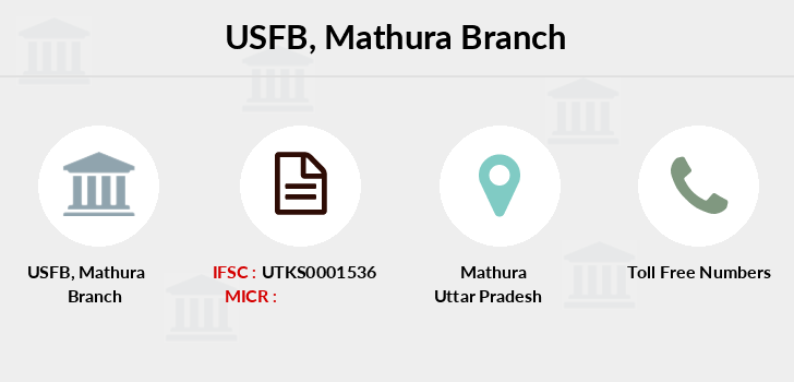 Utkarsh-small-finance-bank Mathura branch