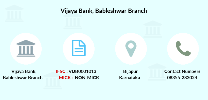 Vijaya-bank Bableshwar branch