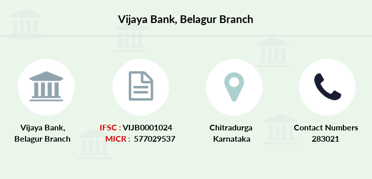 Vijaya-bank Belagur branch