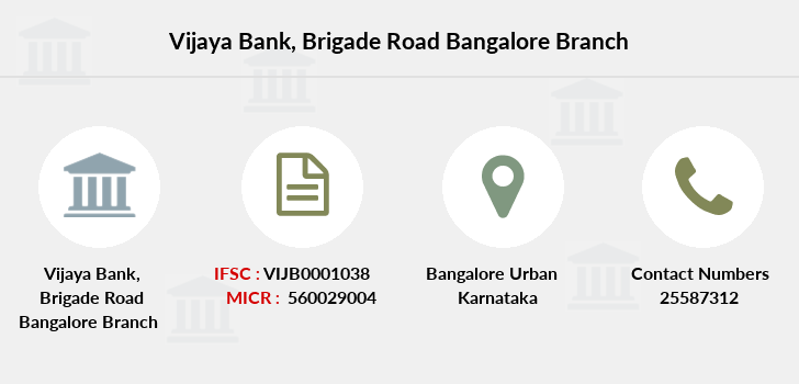 Vijaya-bank Brigade-road-bangalore branch