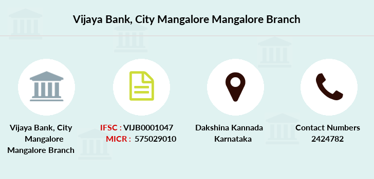 Vijaya-bank City-mangalore-mangalore branch