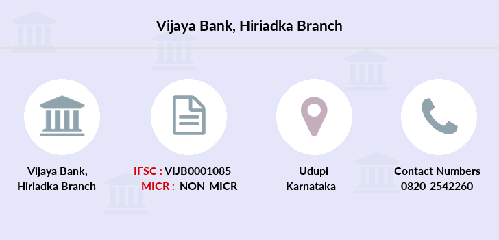 Vijaya-bank Hiriadka branch