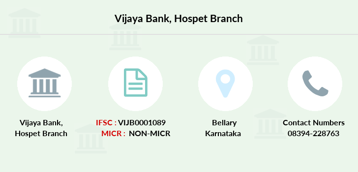 Vijaya-bank Hospet branch