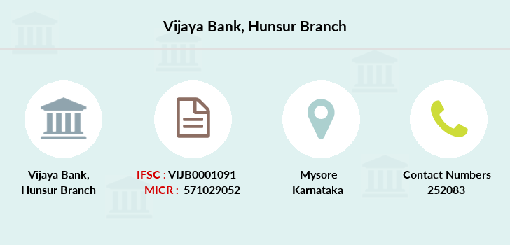 Vijaya-bank Hunsur branch