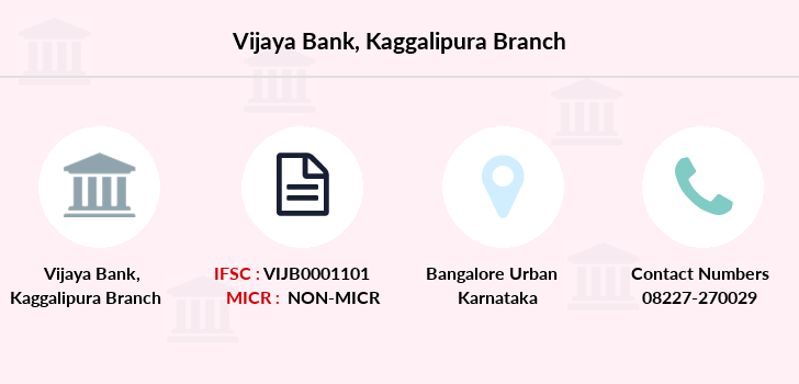 Vijaya-bank Kaggalipura branch