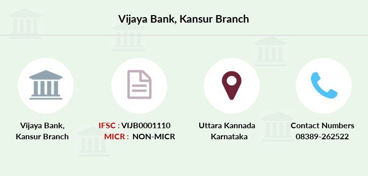 Vijaya-bank Kansur branch