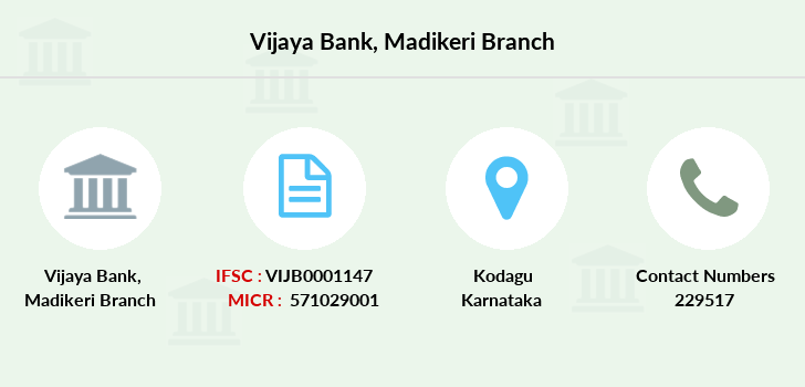 Vijaya-bank Madikeri branch