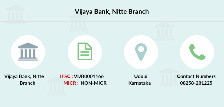Vijaya-bank Nitte branch
