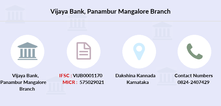 Vijaya-bank Panambur-mangalore branch