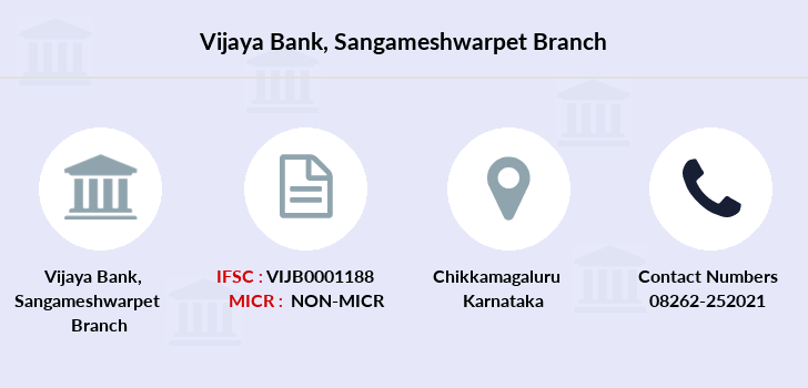 Vijaya-bank Sangameshwarpet branch