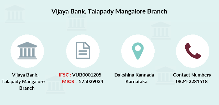 Vijaya-bank Talapady-mangalore branch
