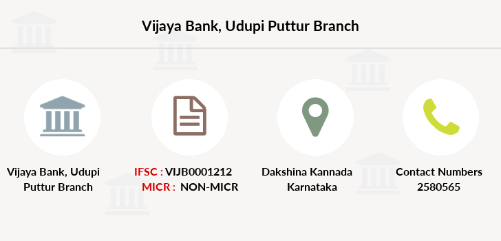 Vijaya-bank Udupi-puttur branch