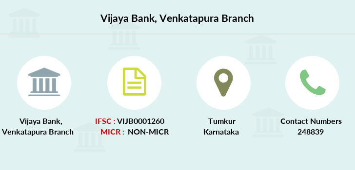 Vijaya-bank Venkatapura branch