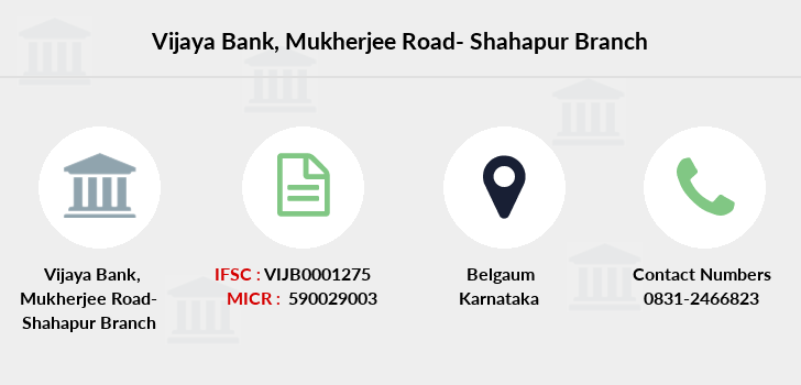 Vijaya-bank Mukherjee-road-shahapur branch