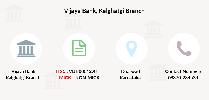 Vijaya-bank Kalghatgi branch
