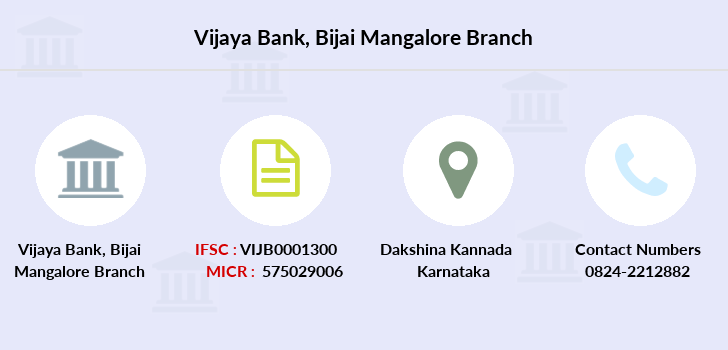 Vijaya-bank Bijai-mangalore branch