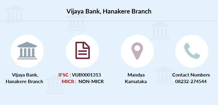 Vijaya-bank Hanakere branch