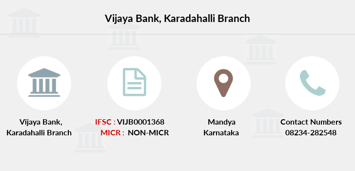 Vijaya-bank Karadahalli branch