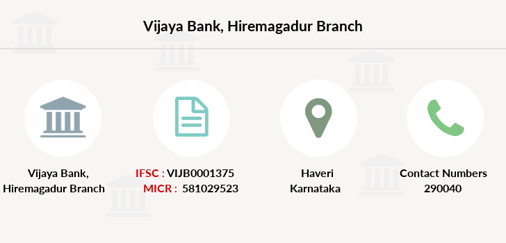 Vijaya-bank Hiremagadur branch