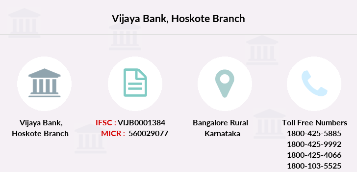 Vijaya-bank Hoskote branch
