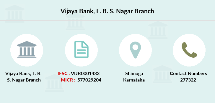 Vijaya-bank L-b-s-nagar branch