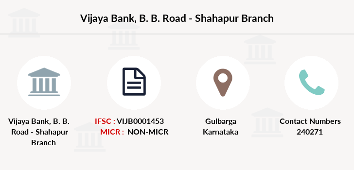 Vijaya-bank B-b-road-shahapur branch