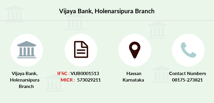 Vijaya-bank Holenarsipura branch